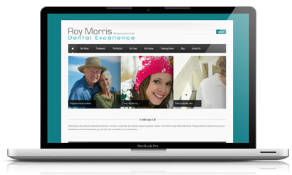 New Website Roy Morris Dental Excellence